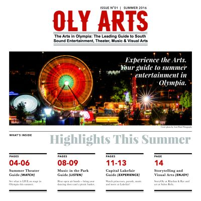 OLY ARTS, Issue No. 1, Summer 2016